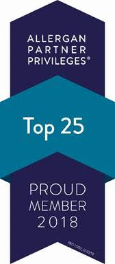 Allergan, maker of Juvederm Voluma, top 25 partner