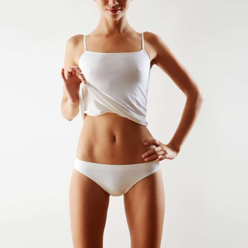 Model for CoolSculpting fat removal treatment