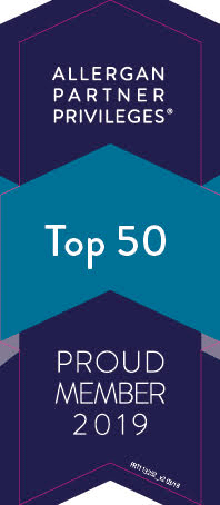 Greenspring gets Allergan top 50 providers award for Botox and Juvederm
