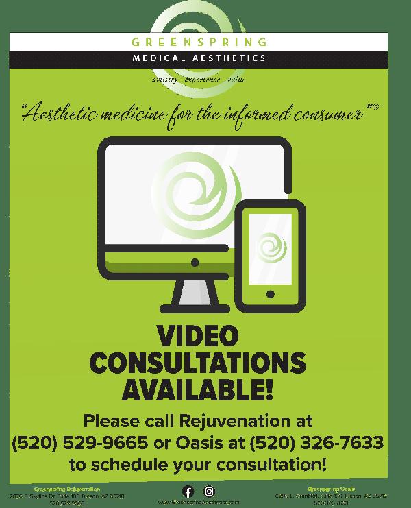 video consultations - tucson medspa